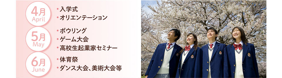 4月 入学式・オリエンテーション